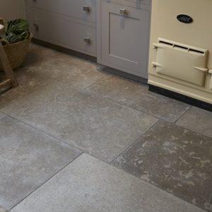 Aged Hazelbury Stone Flooring