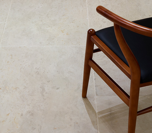 Belgian Blue Tumbled Stone Flooring