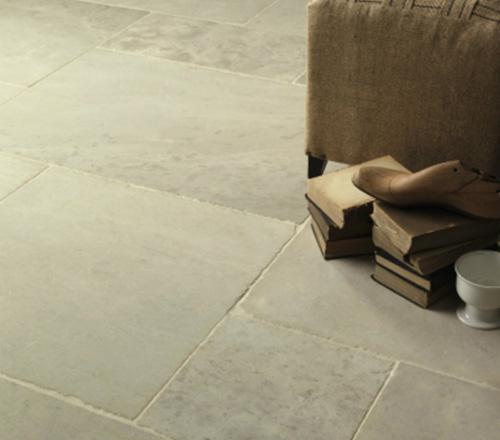 Dany Beige Tumbled Stone Flooring 3