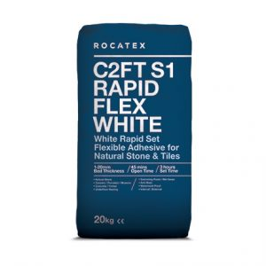 Flexible White Rapidset Adhesive