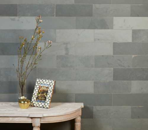 Grey Riven Slate Bricks