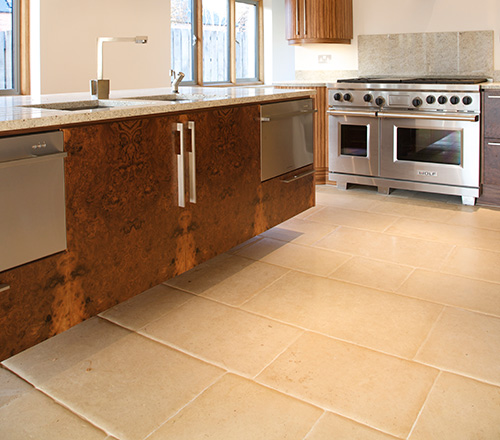 Lincoln Pillowed Stone Flooring 3
