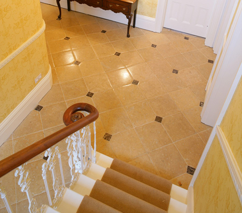 Lincoln Pillowed Stone Flooring 4