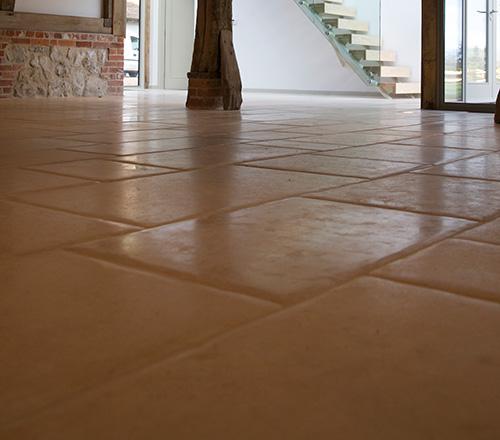 Lincoln Pillowed Stone Flooring