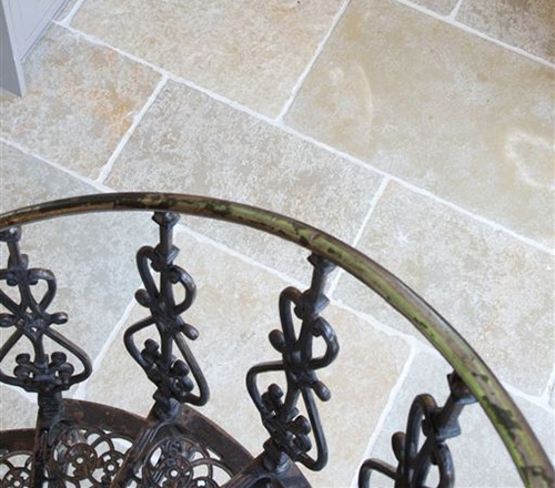 tumbled limestone tiles
