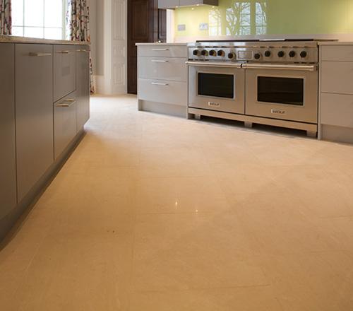Portland stone flooring