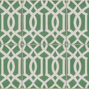 Trellis Green Heritage Ceramics