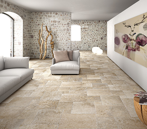 Aged Suede Porcelain Tiles