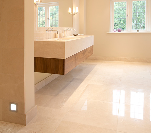 crema marfil floor tiles