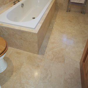 vory Travertine Stone Flooring