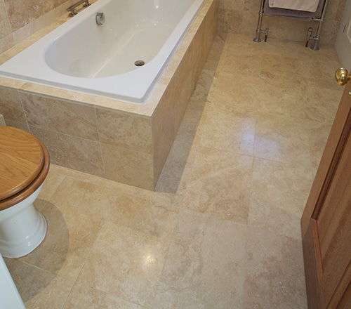 vory Travertine Stone Flooring