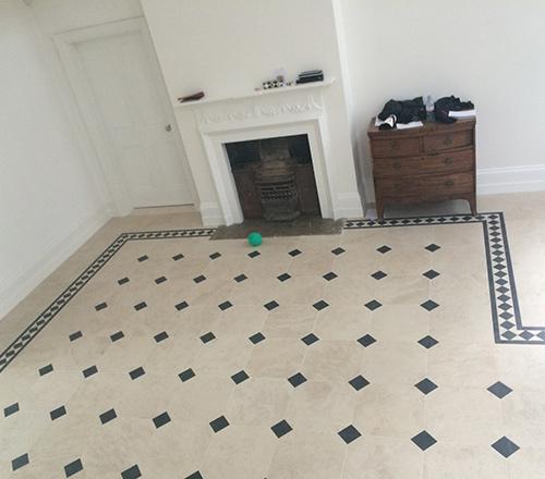 Moleanos Honed Limestone Flooring