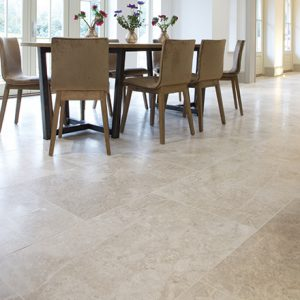Tundra Polished Marble Flooring