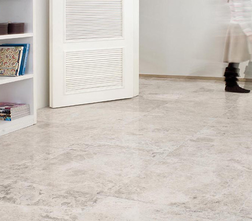 Tundra Polished Marble Flooring