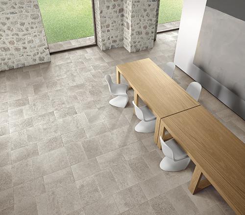 Natural Stone Tiles or Porcelain Flooring