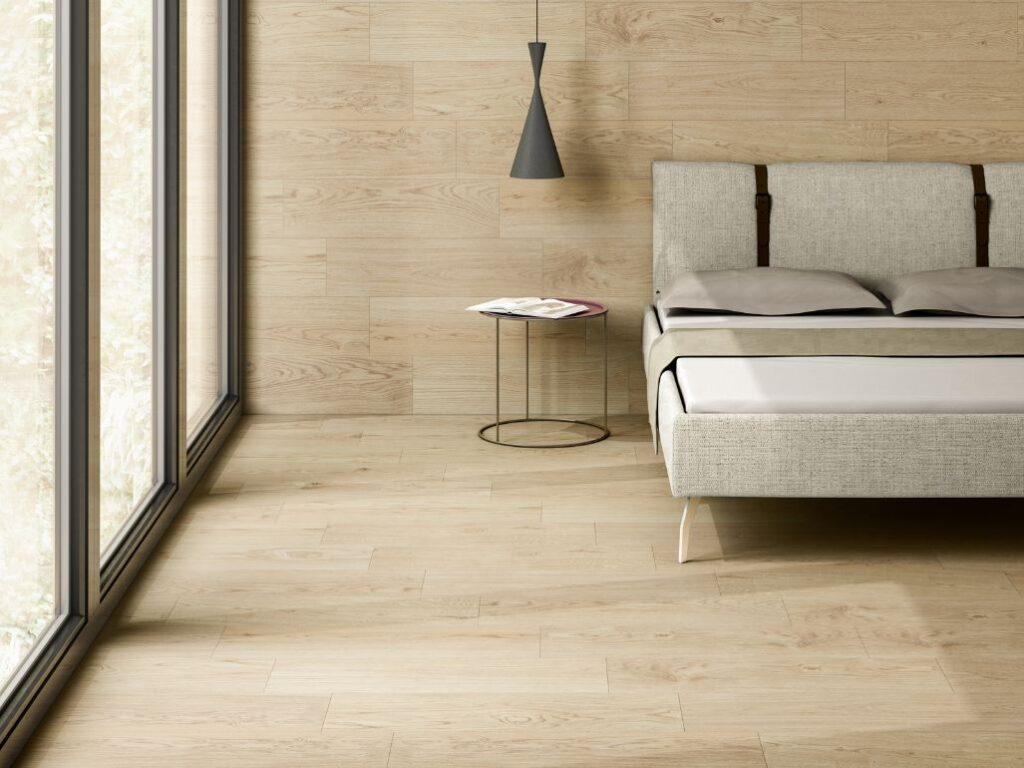 Beech Wood Effect Porcelain Floor